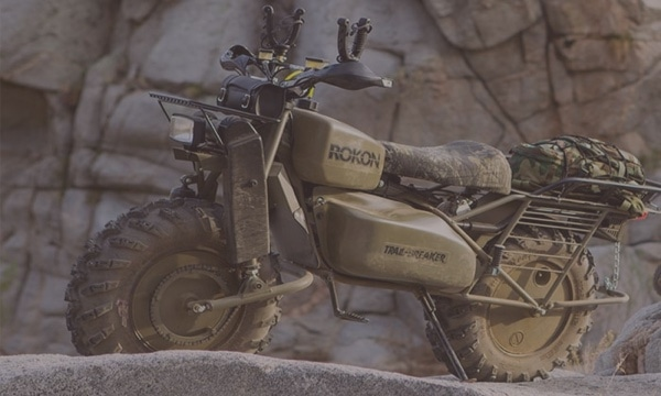 Rokon Motorcycle for Hunters