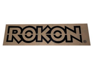 Rokon Decal Black